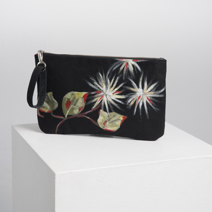 Clematis Zip Bag